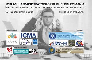 La Predeal a avut loc Forumul Naţional al Asociatiei Administratorilor Publici din Romania