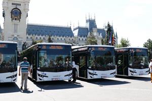 Primăria Iași achiziționează 88 de autobuze noi