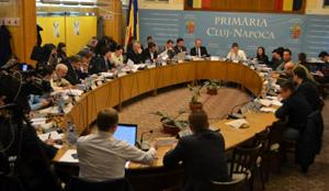 Bugetul municipiului Cluj-Napoca, de 300 milioane de euro, a fost adoptat de consilierii locali