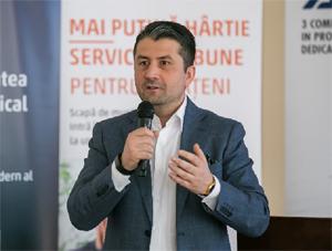 """Decebal Făgădău: Consumurile la utilitățile publice ar trebui să poată fi văzute într-un """"tablou de bord"""" unic"""