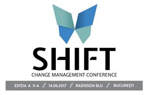 """Specialiștii în change management discută despre cum adoptă companiile schimbarea într-un mod creativ la """"SHIFT. Change Management Conference"""""""