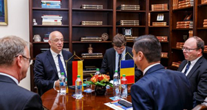 Ambasadorul Republicii Federale Germania în România, în vizită la Primăria Municipiului Iași