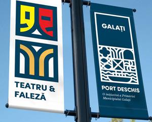 A fost lansat pachetul de identitate vizuală cu logo-ul municipiului Galați