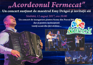 Pe 12 august va avea loc inaugurarea Teatrului de vară din Moinești