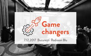 Game changers. A conference for Project Managers today: cum să dezvolți echipe performante și să te adaptezi într-un mediu de business dinamic