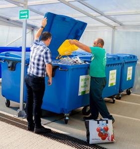 Persoanele juridice pot preda deșeurile reciclabile la Centrul Municipal de Colectare Iași (CMCI)