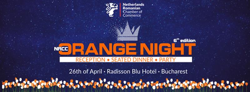 NRCC ORANGE NIGHT: 26 aprilie, Radisson Blu Hotel, Bucureşti