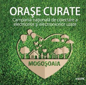 """Campania ECOTIC """"Orașe Curate"""" își continuă traseul din 2018 la Mogoșoaia"""
