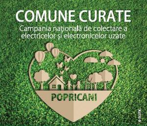 """Campania """"Comune Curate"""" în Popricani, județul Iași"""