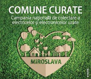 """Campania """"Comune Curate"""" vizitează Miroslava, județul Iași"""