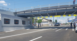A fost inaugurat pasajul Popa Şapcă din Timiş, care a trecut prin ample lucrări de modernizare