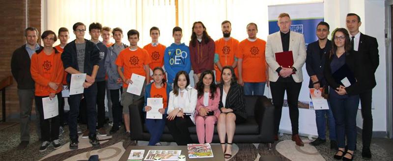 Consiliul Județean Harghita a premiat tinerii talentați din județ