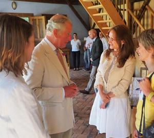 Preşedintele CJ Sibiu l-a invitat pe Prinţul Charles în 2019, la Sibiu, în viitoarea Regiune Gastronomică Europeană