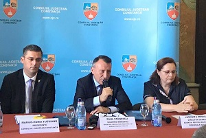 Vicepremierul Stănescu a semnat la Constanţa două contracte de finanţare europeană în valoare totală de circa 30 de milioane lei