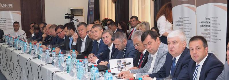 Principalele obiective pentru modernizarea administraţiei au fost dezbătute la Adunarea Generală a Asociaţiei Municipiilor din România