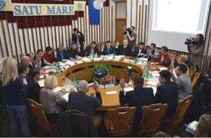 Consiliul Local Satu Mare a aprobat achiziţionarea a 20 de autobuze hibrid, din fonduri UE