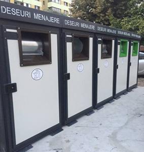 La Brăila se montează primele 100 de module pentru colectarea selectivă a deşeurilor