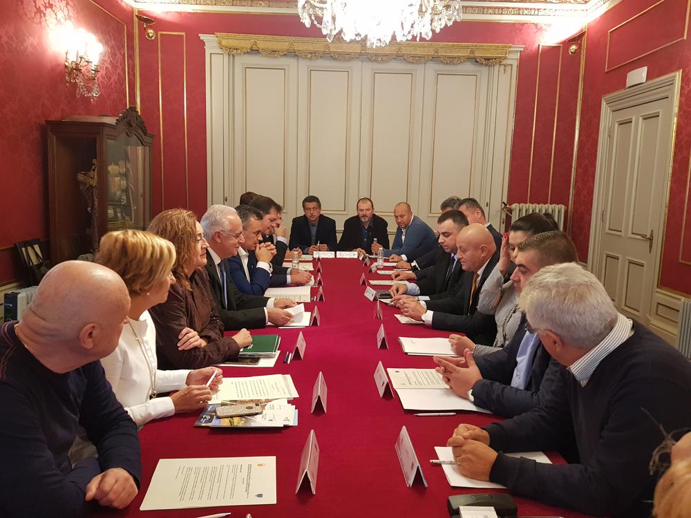 Vizită a unei delegații a CJ Buzău în Spania