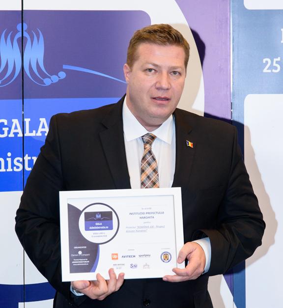 Trei premii obţinute de Instituţia Prefectului Harghita în ultimele două săptămâni, pentru proiecte derulate în acest an