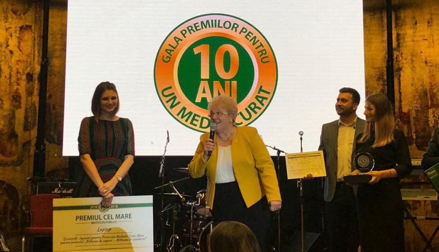 Ediția aniversară a Galei Premiilor pentru un Mediu Curat și-a anunțat câștigătorii