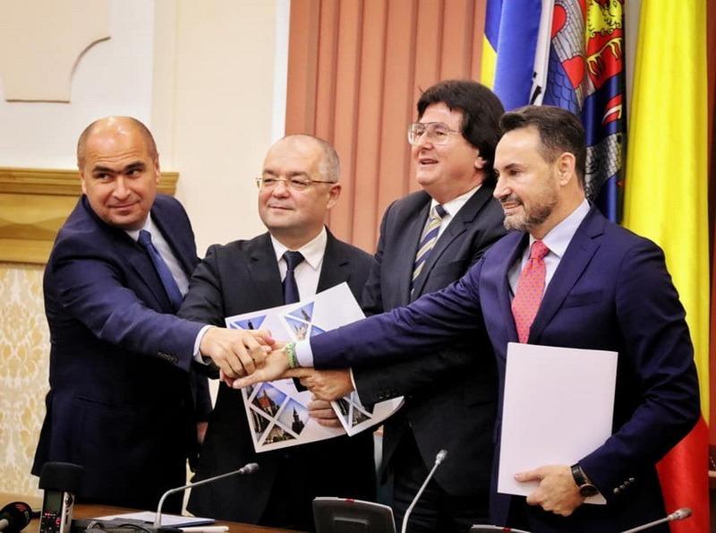 """Primarii municipiilor Arad, Cluj-Napoca, Oradea şi Timişoara au fondat """"Alianţa Vestului"""""""