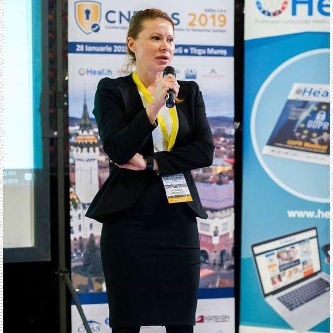 Adriana Szentgyorgyi Ceaușescu, Project Manager, ASCPD: Jumătate dintre companii nu reuşesc să identifice breşele de securitate cibernetice