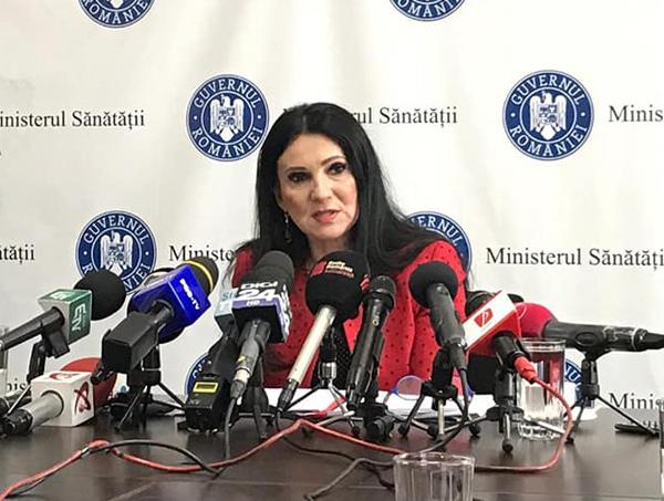 Sorina Pintea: Problema imunoglobulinei este rezolvată, iar tratamentul va ajunge la pacienţi cât de curând
