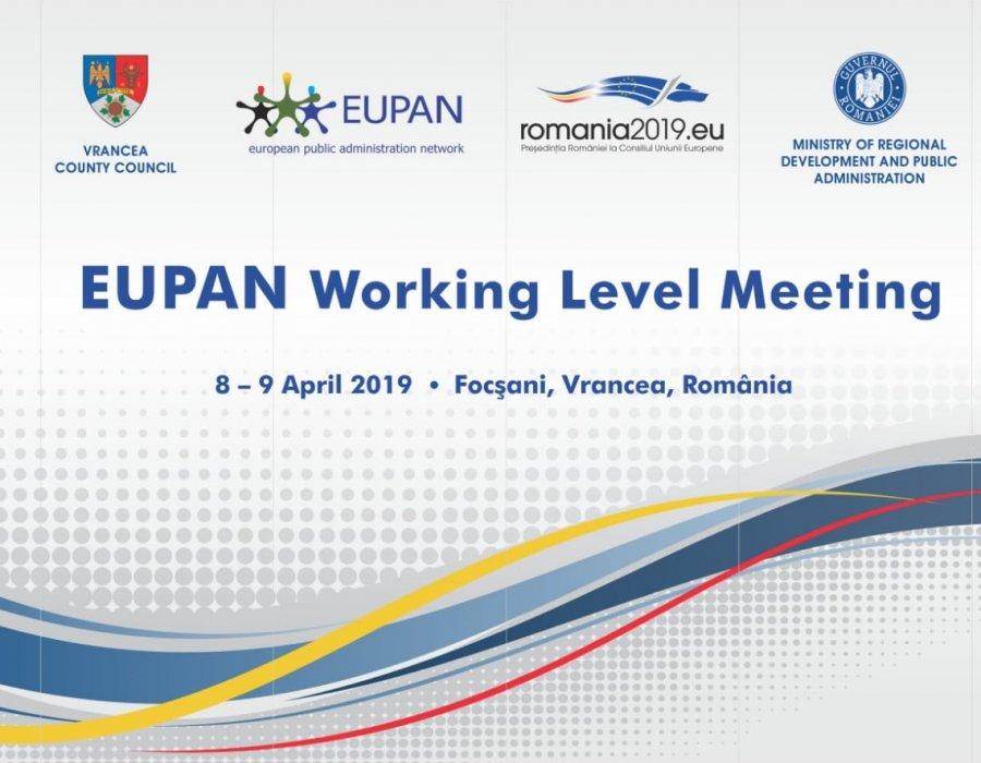 Consiliul Judeţean Vrancea va găzdui întâlnirea membrilor Reţelei Europene de Administraţie Publică