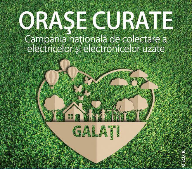 """Campania ECOTIC """"Orașe Curate"""" vizitează orașul Galați"""