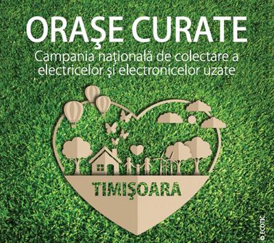 """Campania ECOTIC """"Orașe Curate"""" revine in Timișoara"""