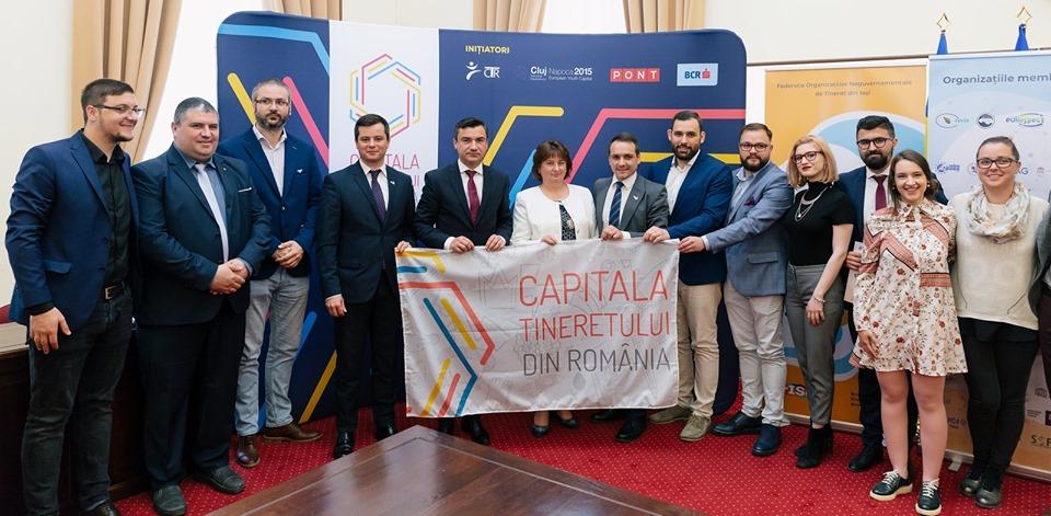 Municipiul Iaşi este timp de un an Capitala Tineretului din România
