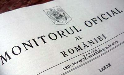OUG privind prelungirea mandatelor aleşilor locali a fost publicată în Monitorul Oficial