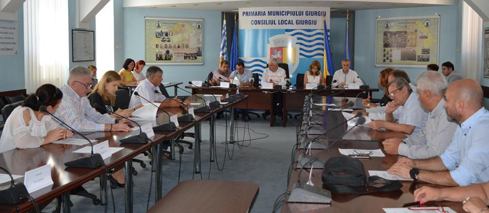 Consilierii locali din municipiul Giurgiu au aprobat rectificarea bugetului