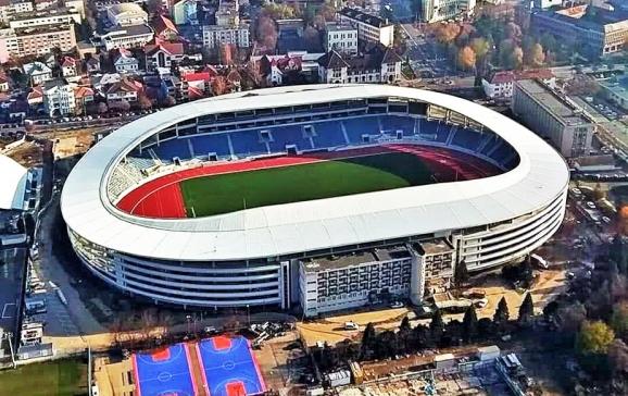 Primăria Oradea vizează construirea unei arene sportive de 15-20.000 de locuri