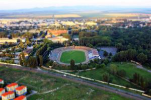 A fost scoasă la licitaţie reabilitarea Stadionului Progresul din Brăila, proiect de un milion de euro