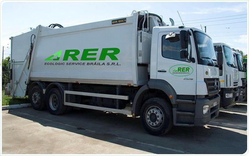 RER Ecologic Service solicită majorarea tarifelor de colectare a deşeurilor din municipiul Brăila