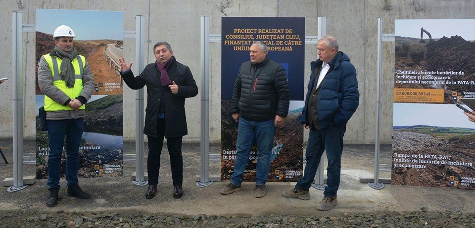 Rampa de gunoi de la Pata Rât a fost închisă cu 53,6 milioane de lei