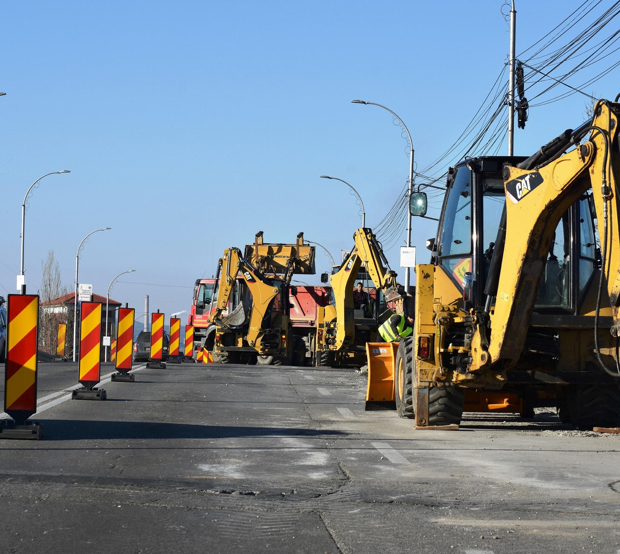 Primarul municipiului Târgovişte anunţă că lucrările la centură vor fi finalizate în acest an