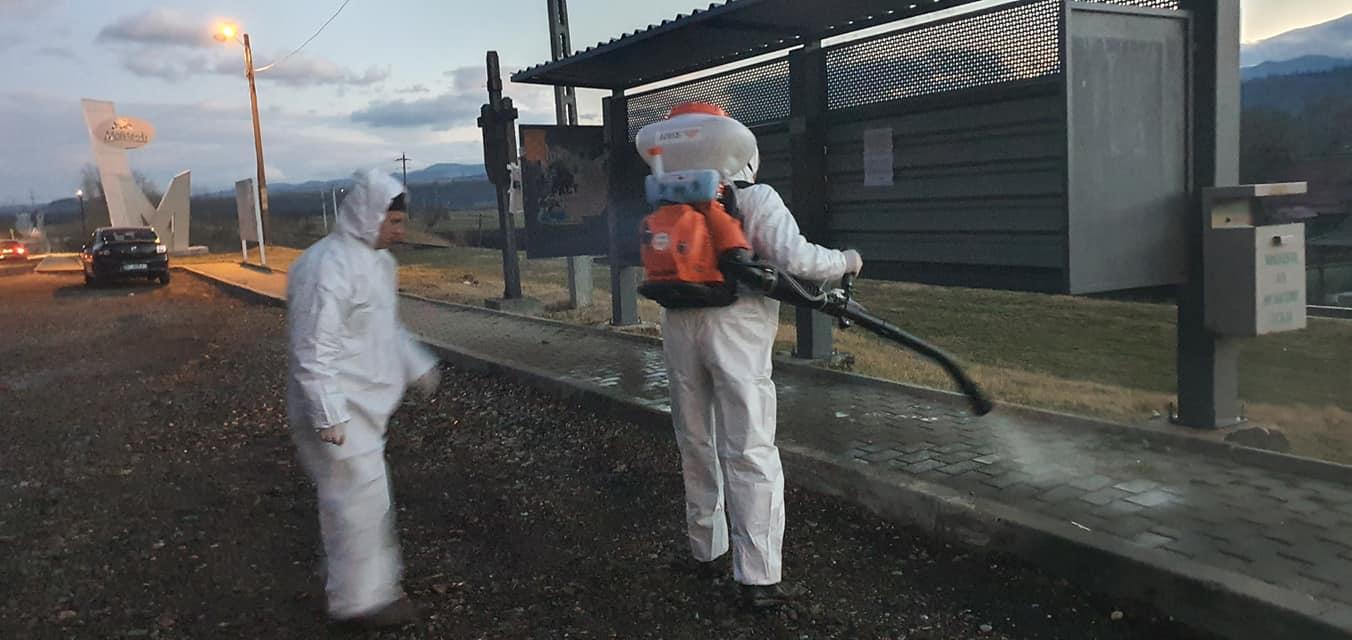 Primaria Municipiului Moinesti ia masuri pentru limitarea efectelor pandemiei