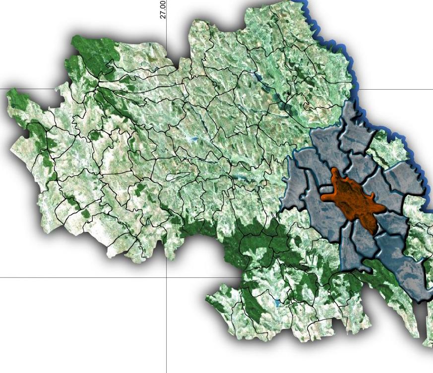 GCS a precizat că zonele metropolitane reprezintă teritoriul municipiilor şi o zonă de 30 de kilometri în jurul acestora
