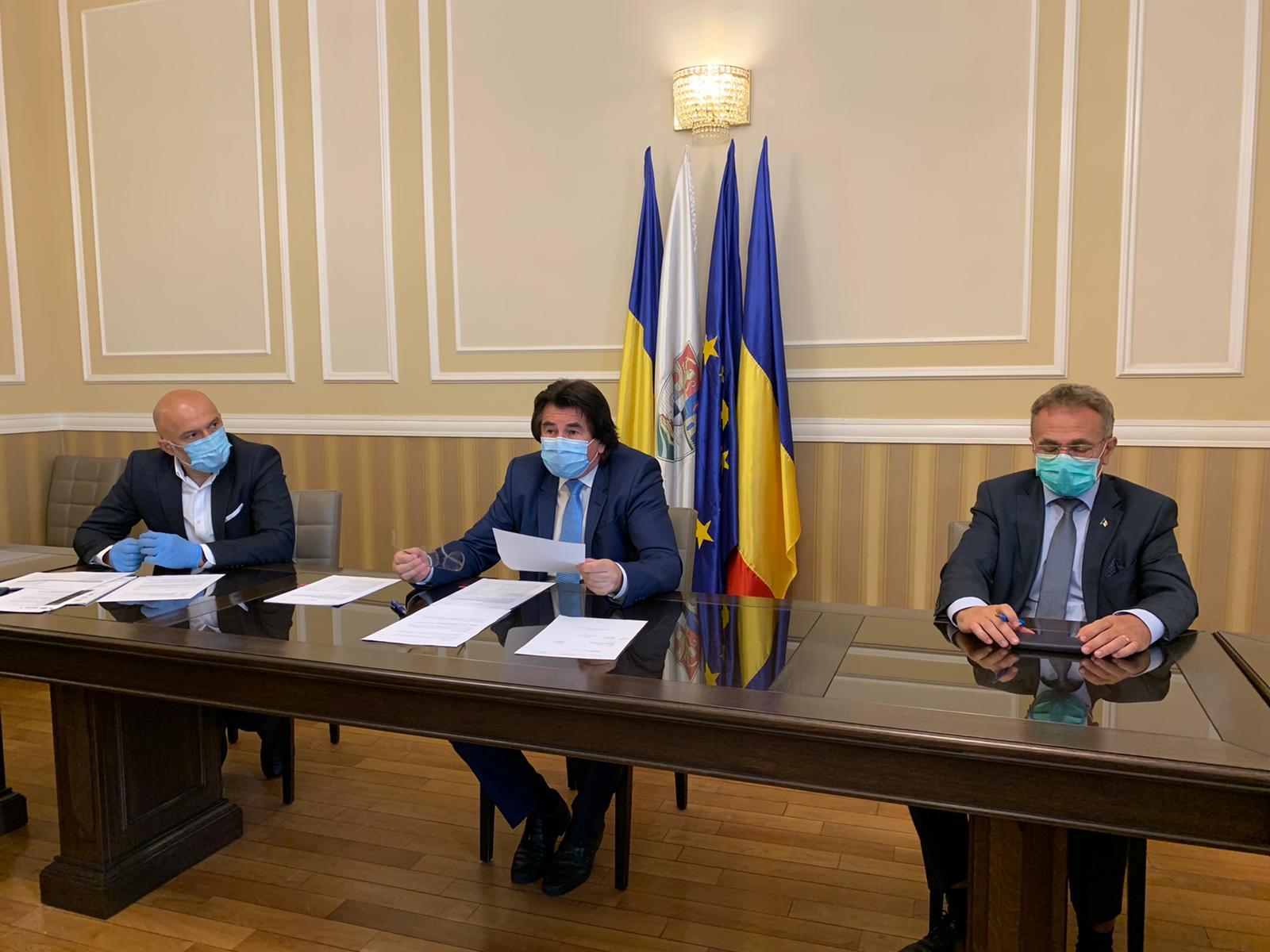 A fost semnat şi ultimul contract din proiectul de înnoire a flotei de tramvaie din  Timişoara