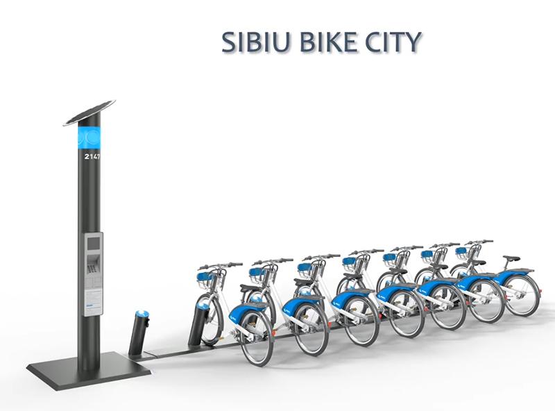 Sibiul va avea peste 40 de centre de închiriere pentru biciclete