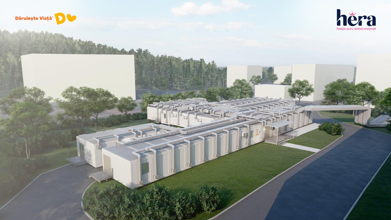 Costurile pentru lucrările la spitalul modular de la Brașov aproape s-au dublat