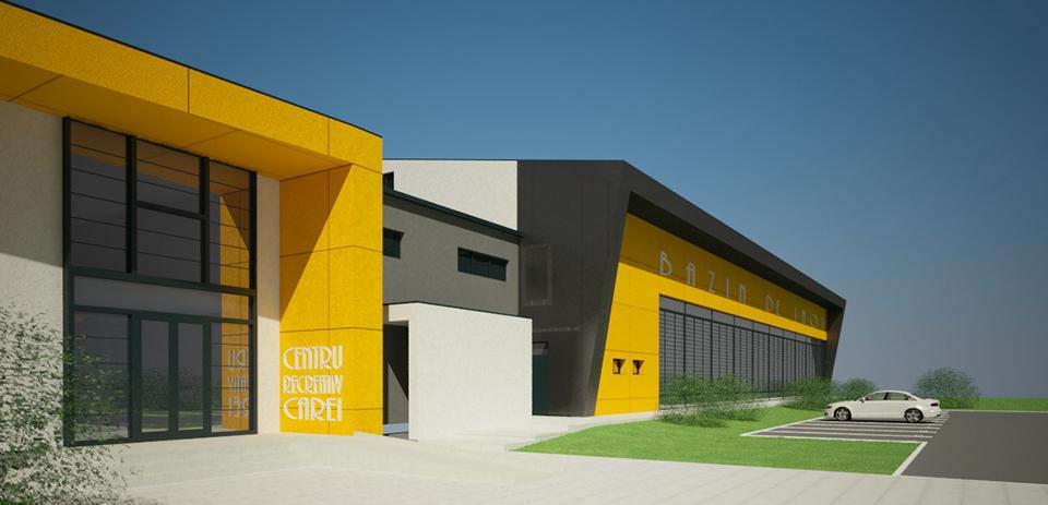 Primăria Carei va construi un centru recreativ de 2,9 milioane de euro