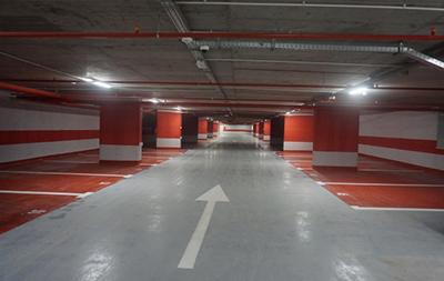 A fost finalizată parcarea subterană pe trei niveluri construită pe malul Crişului Repede, în Oradea