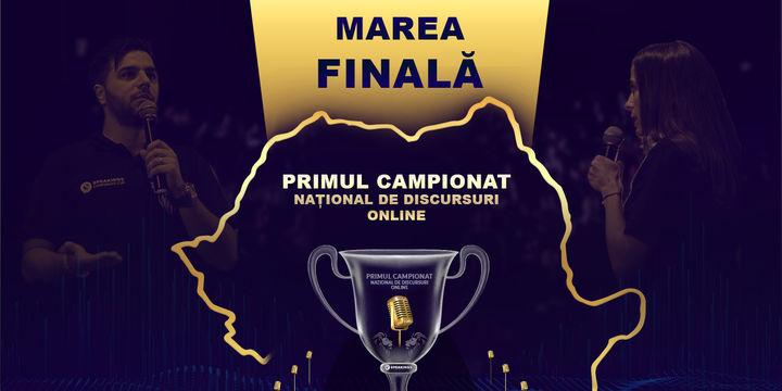 Finala Campionatului Național de Discursuri Oline – 14 iulie, ora 18.18