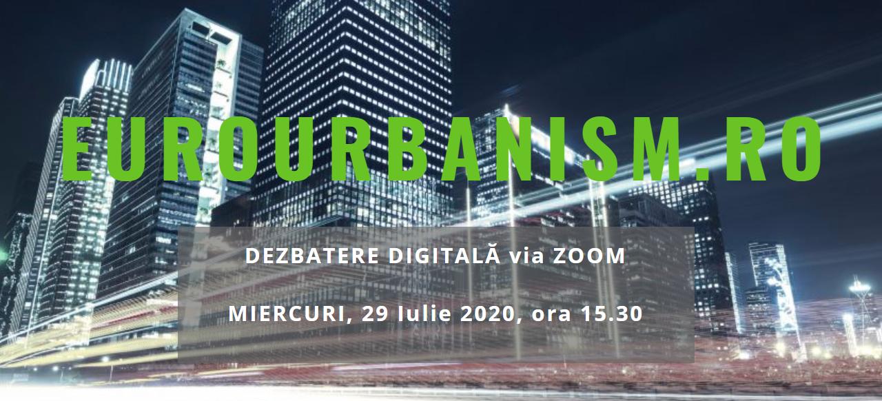 Cum transformă pandemia COVID-19 orașele și arhitectura clădirilor – Dezbatere digitală EuroUrbanism