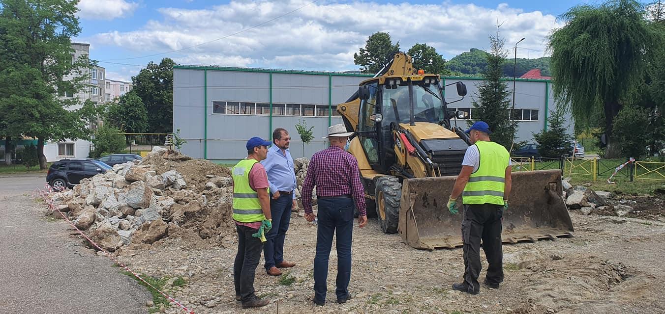 Amplu proiect de reabilitare urbană în centrul municipiului Moinești
