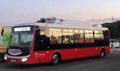 Primele cinci autobuze electrice, date în circulaţie la Zalău