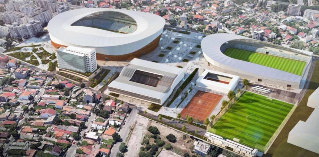 La Constanța este demarat proiectul unui Complex Sportiv de peste 100 de milioane de euro
